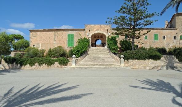 Le sanctuaire de Monti-sion à Porreres à Majorque